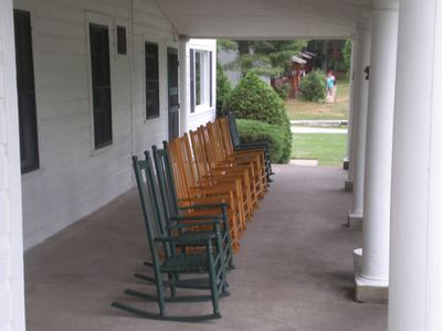 Our Large Front Porch