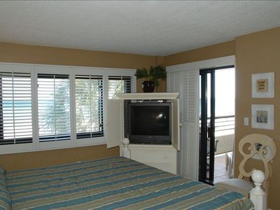 Master Bedroom showing opening to balcony.