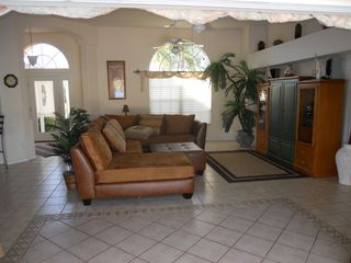 Cape Coral villa photo - another view of living area from lanai