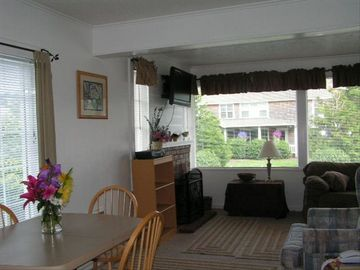 Dining room toward living room.