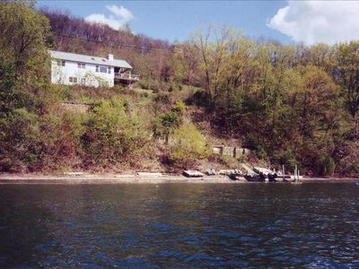 Private, Natural Shoreline, Includes Dock, Swim Platform, And Mooring Buoy.