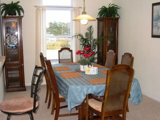 Fenwick Island townhome photo - Partake of a Lighthouse View when sitting at the table in our airy Dining Room