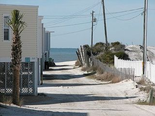 Cape San Blas house photo - Sandy walkway to the beach