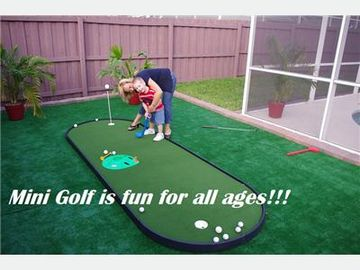 Indian Ridge Oaks house rental - Let''''s Play Putt Putt!!!