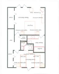 Key West townhome photo - 2nd Floor Plan