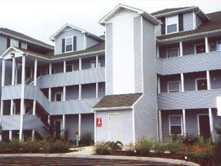 Rehoboth Beach condo photo - Our unit is the two level penthouse to the right o