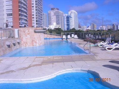 Uruguay apartment rental - heated swimming pool adults and children, jacuzzi