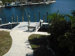 Key Largo house photo - Backyard is a great place to spend time