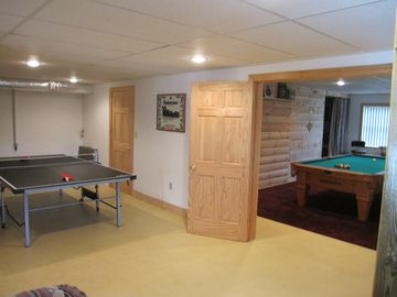 Ping Pong Table and Championship Pool Table