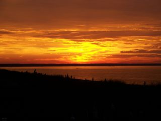 East Sandwich house photo - Enjoy Gorgeous Sunsets From Deck