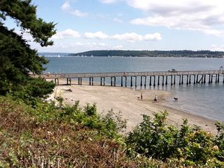 Oak Harbor house photo - Enjoy the beach, go for a stroll, or launch your boat at the private boat launch