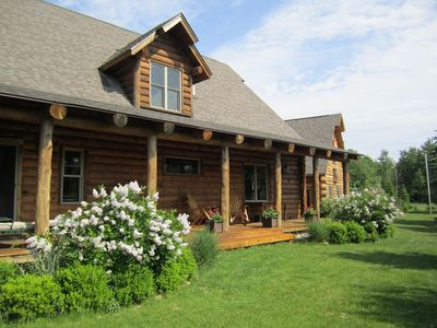 Michaywe Log Home, Perfect For Large Groups