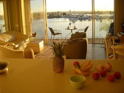 Breakfast on the balcony....ease into your day: Adventures or lounging around?