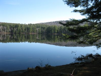 Nearby Lowell Lake State Park, walking distance .7