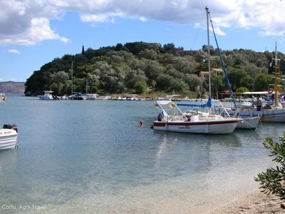 Agios Stefanos house rental - View from the Beach