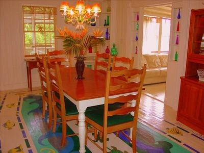 Spacious Dining Room -- Enough Seating for Everyone!!