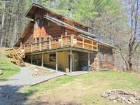 Winter Rental in Beautiful Log Home, near Stratton and Bromley