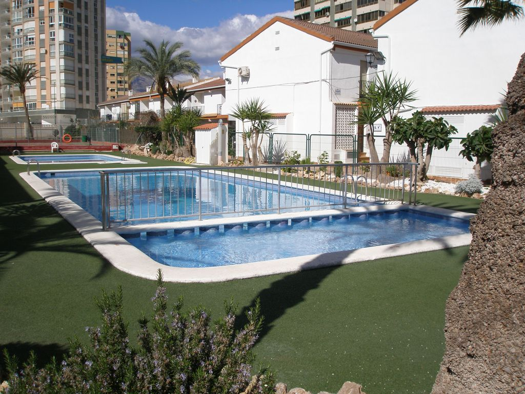 Air-conditioned accommodation, 90 square meters , Benidorm, Spain