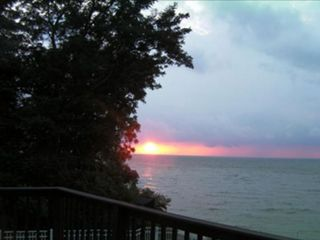Erie house photo - Sunset view off your deck!
