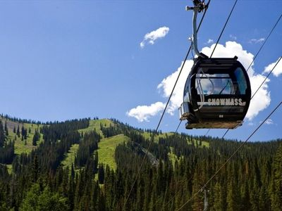 2 blocks to Aspen Silver Queen Gondola