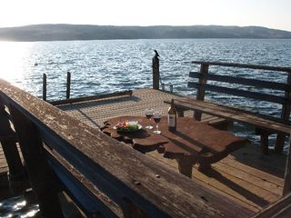 Point Reyes Station cottage photo - Sunset Dining Dockside
