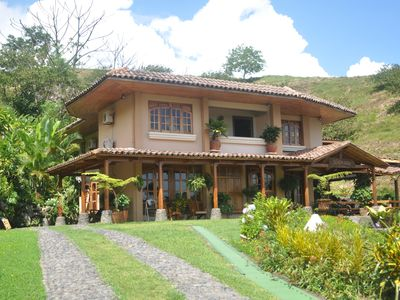 La Fortuna villa rental - Front view of the Majestic