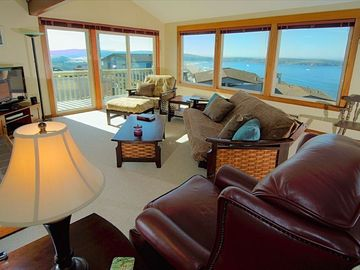 Dillon Beach house rental - Views of Pacific Ocean, Point Reyes Peninsula, Bodega Headlands and Tomales Bay