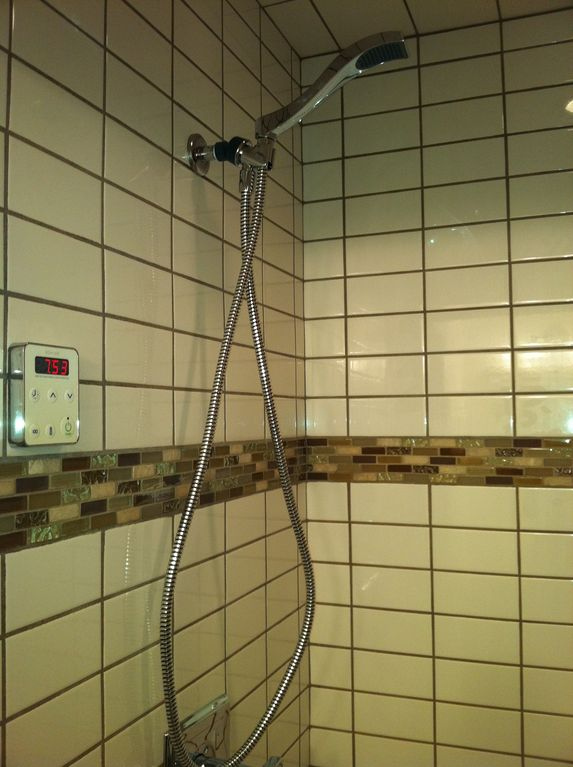 Steam Shower Bath downstairs
