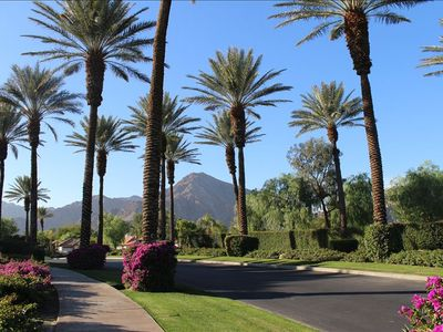 The entrance into Rancho La Quinta