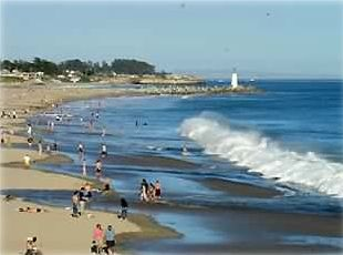 You are 100 steps from Seabright Beach a Great Family Beach