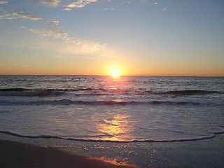 Carolina Beach condo photo - If you're an early bird you can watch the sunrise with your morning coffee.