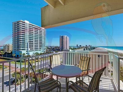 Sans Souci Gulfside two-bedroom, 4th floor condo. Free WiFi.Swimming Pool