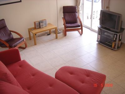 Pegia (Peyia) villa rental - Relax in the Lounge, Sky TV, DVD, Video, Music