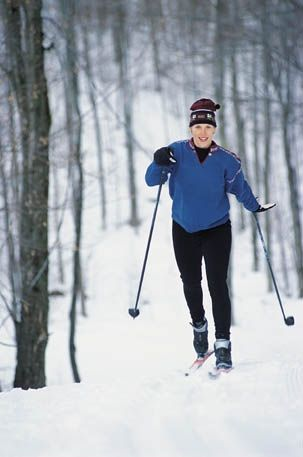 Duluth has many miles of groomed XC Ski trails