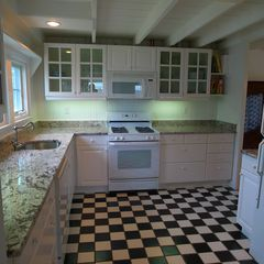 West Yarmouth house photo - Granite countertops in this pretty, functional kitchen.