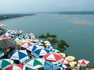 Lake Travis is a short drive away as well as a multitude of outdoor activities.