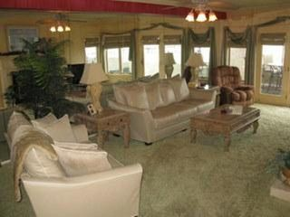 Boardwalk condo photo - .Luxurious family room, flat screen TV and gas fireplace