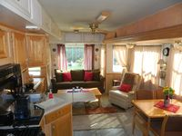 5th Wheel Camper On Deep Water Canal With Boat Dock In Homosassa Springs, FL