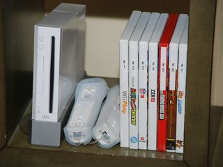 Lincoln City house photo - Wii System & Games