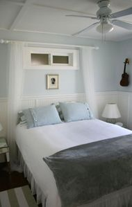 Blue music bedroom