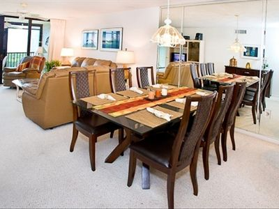 Brand new modern dining room set.