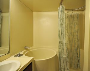 Forest Beach house photo - Japanese soaking tub plus full shower