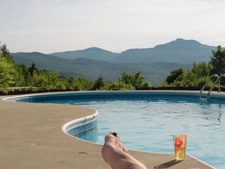 Waterbury Center villa photo - Relax, sun bath & take a dive in this SWIMMING POOL (open late May - mid Sep.)