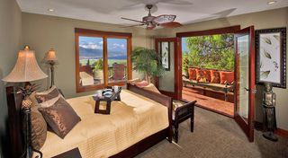 Kula estate photo - Guest Suite Bedroom Two with lovely deck
