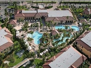 Aerial view of the Resort  Tennis Club  Full Fitness Center Poolside dining
