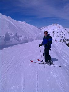 Skiing in Snowbird at Mineral Basin Next door to Alta!