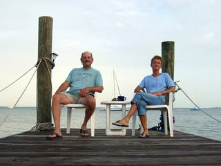 Key Largo cottage photo - Hang out on our docks and enjoy the morning with your coffee...