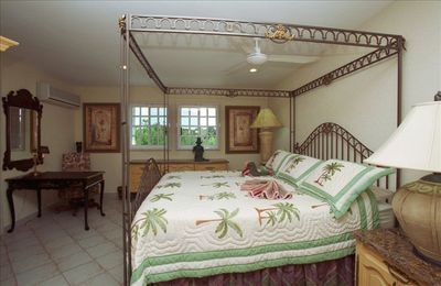 "Bedrooms at Villa Dos have comfortable bedding and are ""fit for kings""."