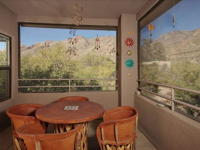 Porch with Excellent unobstructed Mountain Views