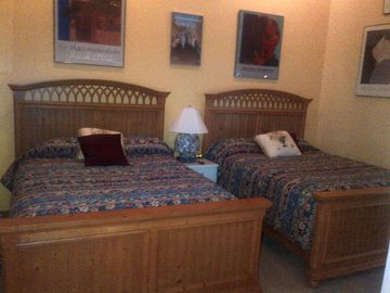 Upstairs Bedroom - 2 Queen Beds